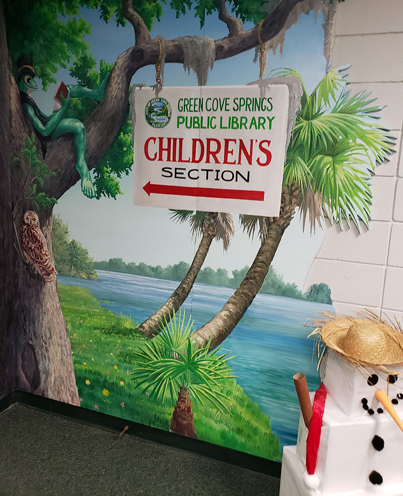 Green Cove Springs Branch, Clay County Library, Green Cove Springs, Florida, Thursday, December 12th, 2019, 403 Ferris St, Green Cove Springs, FL 32043