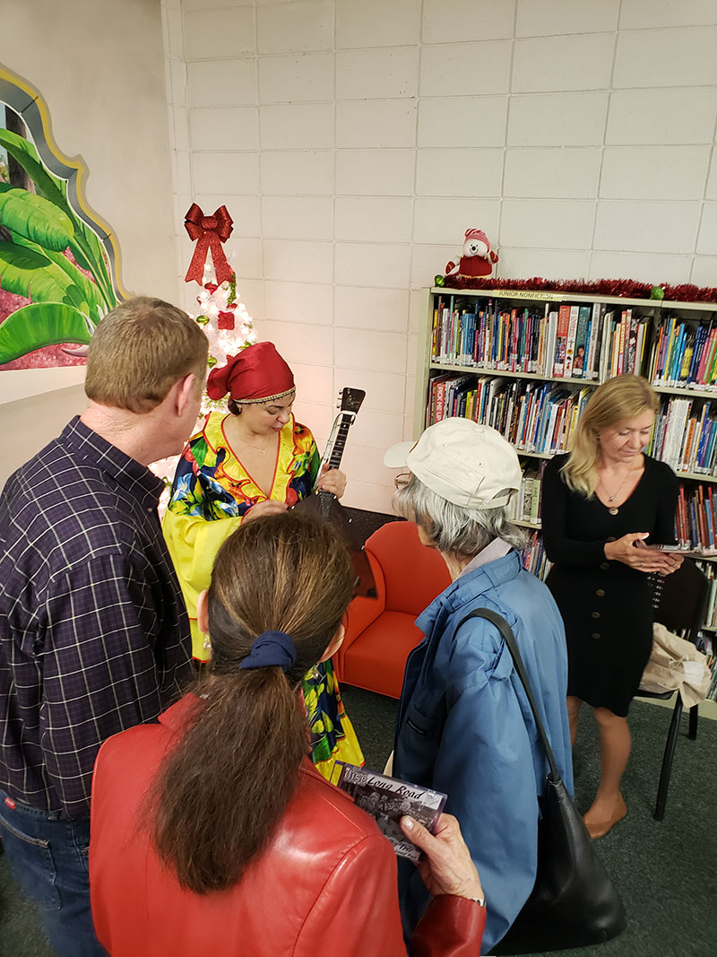 Elina Karokhina, Green Cove Springs Branch, Clay County Library, Green Cove Springs, Florida, Thursday, December 12th, 2019, 403 Ferris St, Green Cove Springs, FL 32043