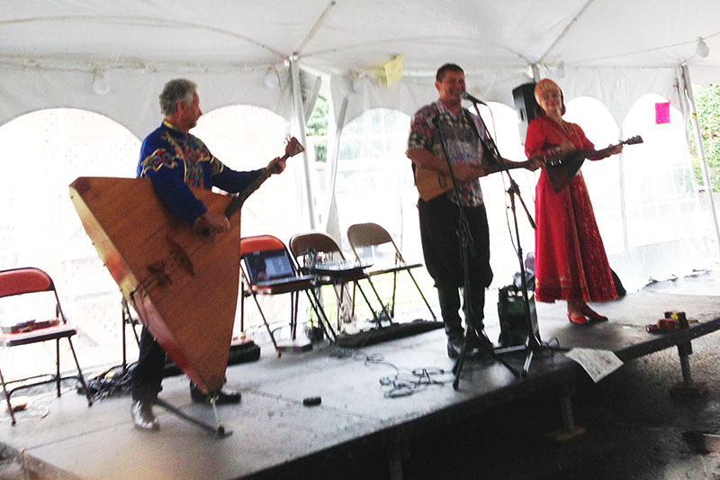 Leonid Bruk, Mikhail Smirnov, Elina Karokhina, 07-29-2017, Cleveland Russian Festival, Parma, Ohio, Saturday, July 29th, 2017, Sunday, July 30th, 2017, German Central