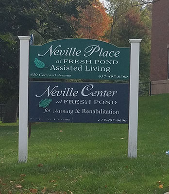 Neville Place Assisted Living, 650 Concord Ave, Cambridge MA 02138