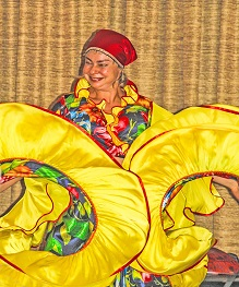 Massachusetts Assisted Living concerts, Russian Balalaika Duo, Gypsy dance