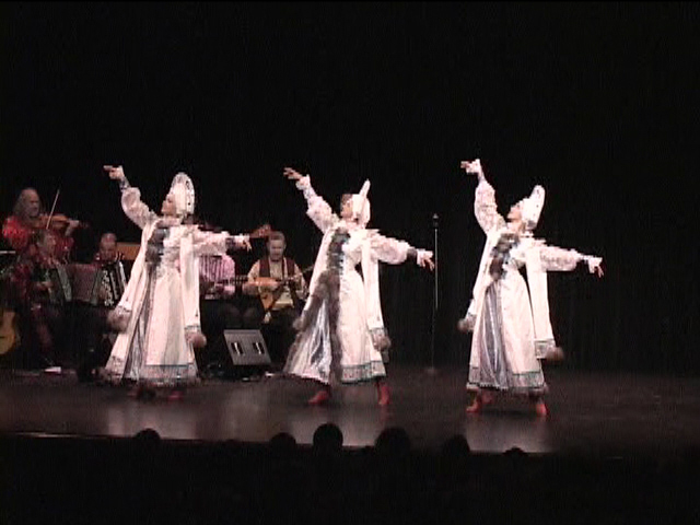 "Russian winter Siberian dance ""Metelitsa"" (The Snowstorm)"