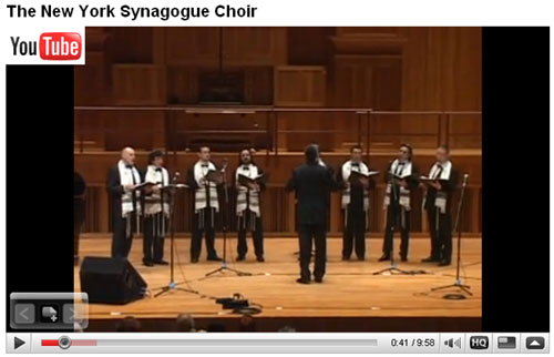 Watch The New York Synagogue Choir video promo on YouTube