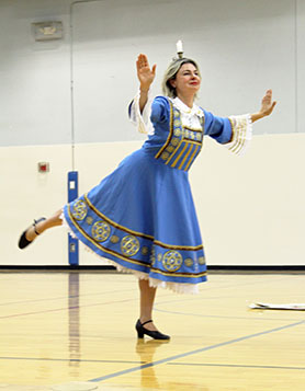 Elina Karokhina, Jewish Wedding Dance, Sixth Grade Academy, Lovington, New Mexico, photo by Jaycie Chesser