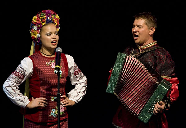 BARYNYA Russian Dance and Music Duo
