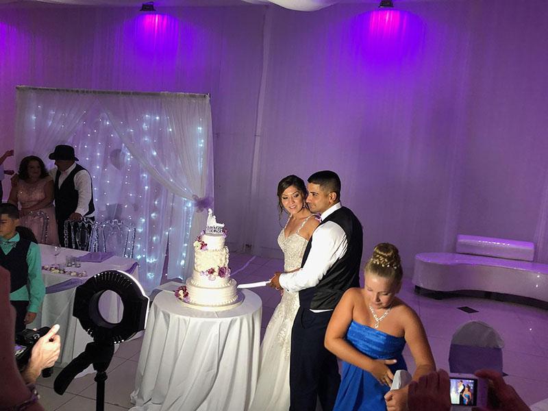 Russian DJ Alisa, Russian MC-Tamda Mikhail, Wedding, Miami, Florida