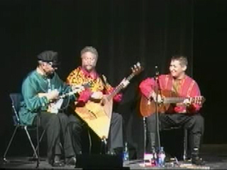 Russian Balalaika Trio is playing Waltz Daydreams composed by Vasily Vasilievich Andreev