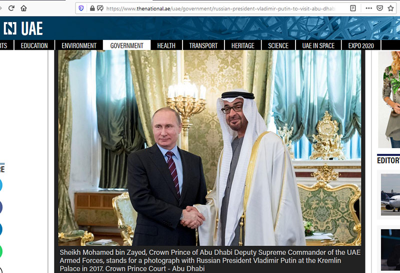 Abu Dhabi, United Arab Emirates, Emirates-Russian Week