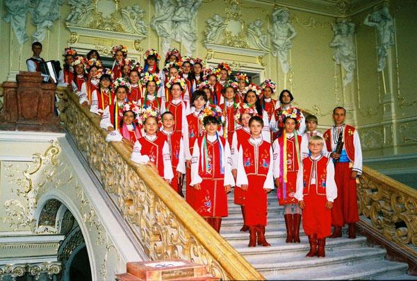 "Ukrainian National Children Chorus ""Pearls of Odessa"" from Odessa, Ukraine"